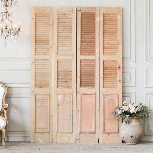 Eloquence® Vintage Wood Shutters*
