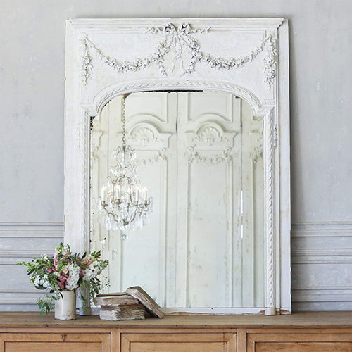 Eloquence® Antique French Trumeau Mirror*